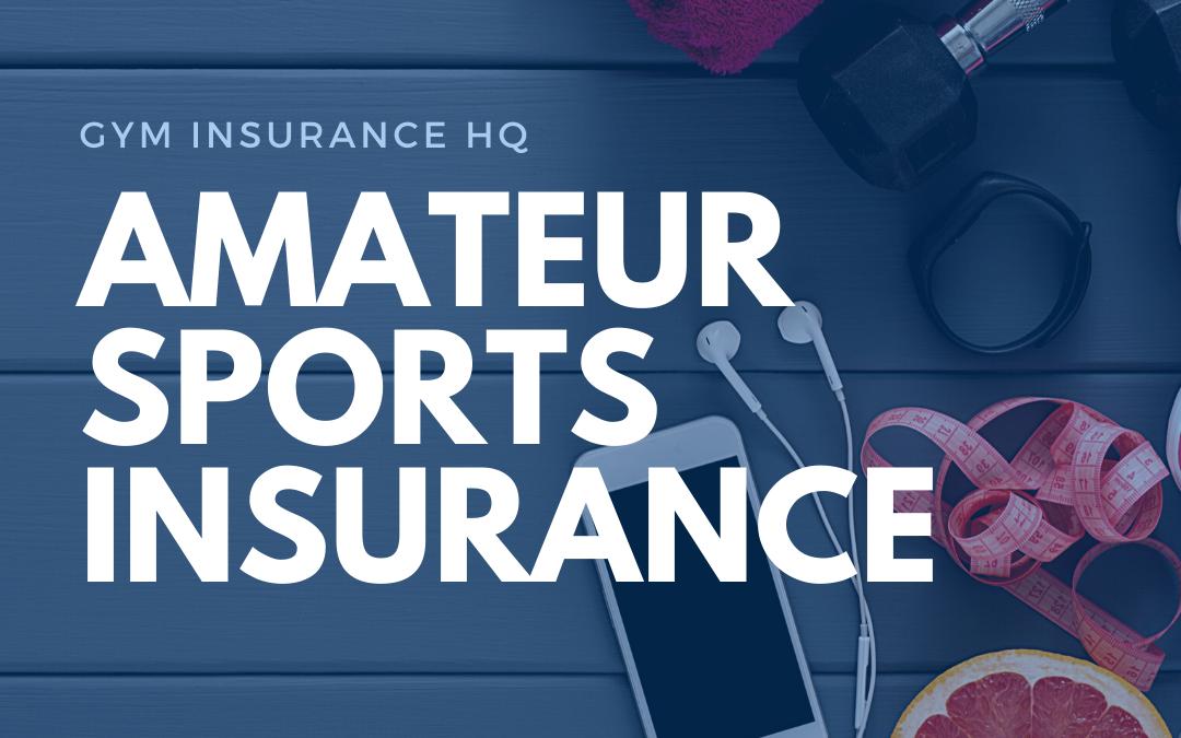 Sports Insurance   Amateur Sports Insurance