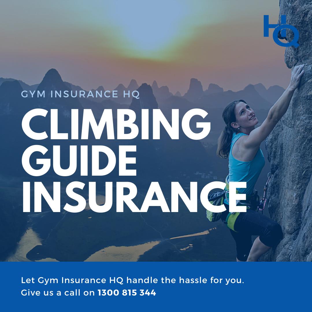 Climbing Guide Insurance