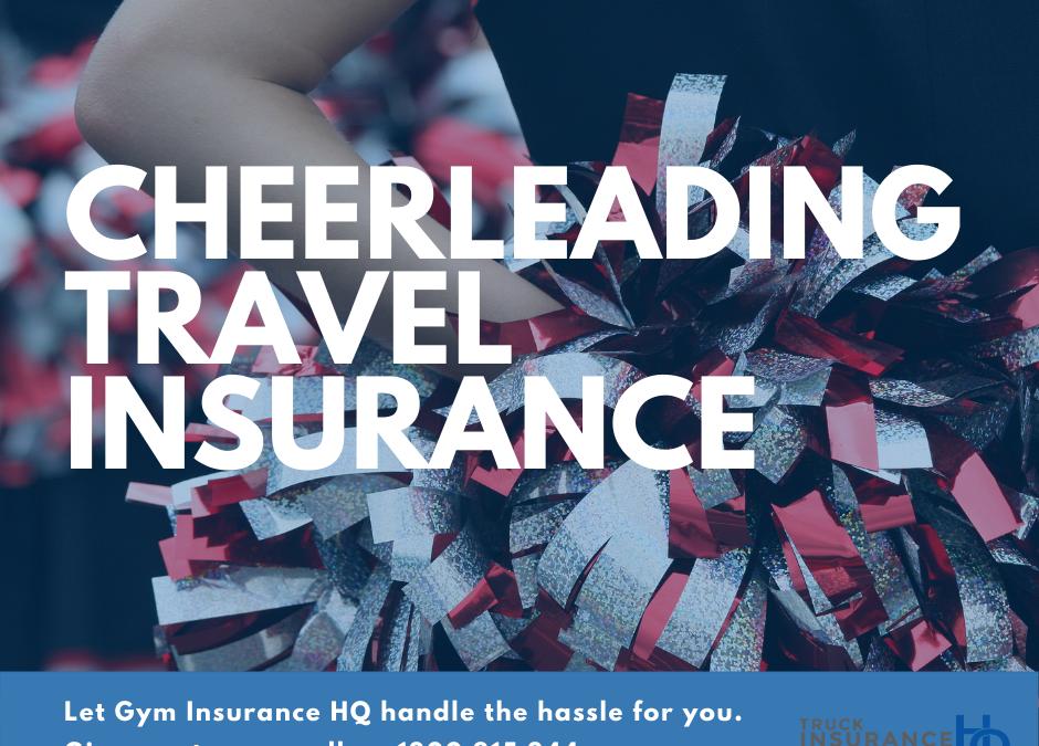 Cheerleading Travel Insurance