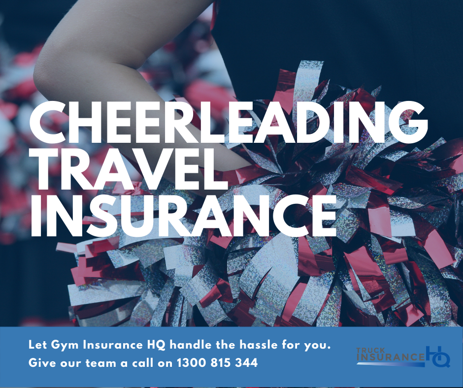 Cheerleading Travel Insurance