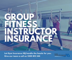 Group Fitness Instructor Insurance