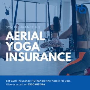Aerial Yoga Insurance
